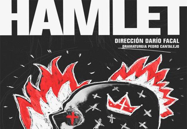 Hamlet con Patricia Fuertes e Irene Coloma en El Corral de Comedias de Álcala