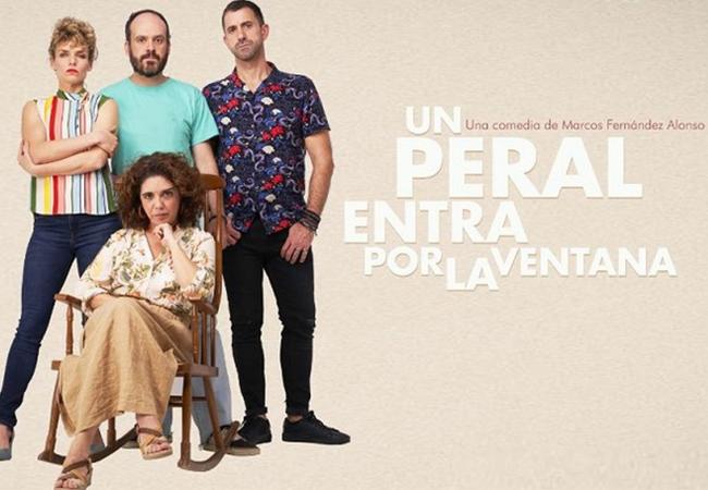 María Segalerva protagoniza la obra de teatro 'Un peral entra por la ventana'