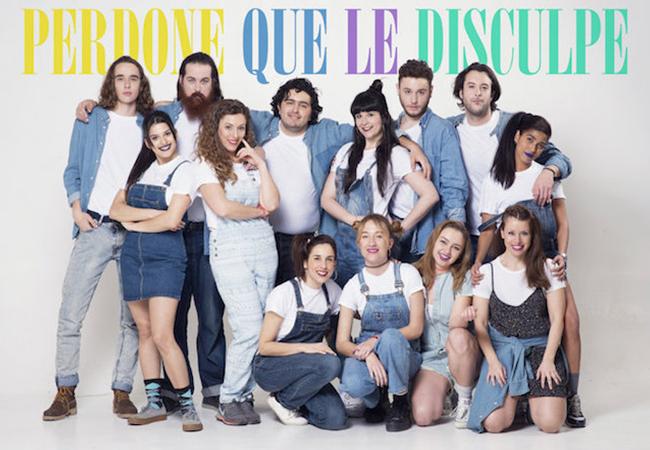 Nuestros actores actuan en  «Perdone que le disculpe» con dirección de Vicente León