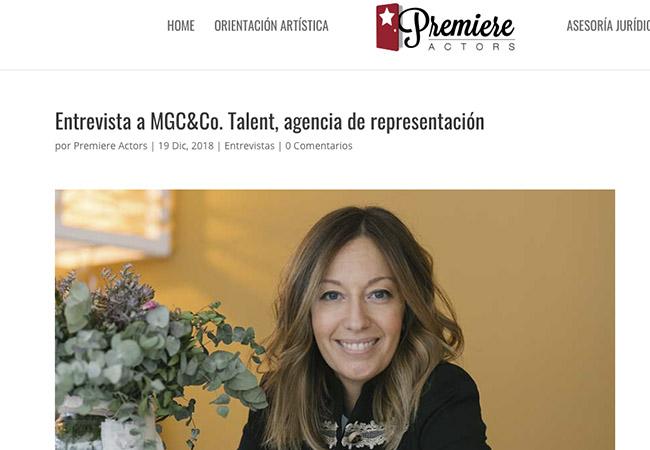 ENTREVISTA A MARIAN GÓMEZ-CAMPOY DIRECTORA DE MGC&Co.Talent