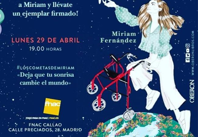 MIRIAM FERNÁNDEZ PRESENTA «LOS COMETAS DE MIRIAM» EN LA FNAC DE CALLAO