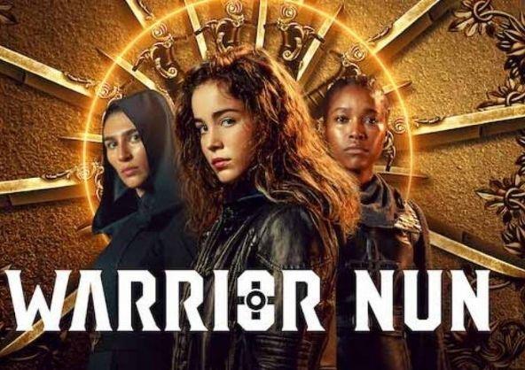 Pedro Aijón en la nueva serie de Netflix, «Warrior Nun»