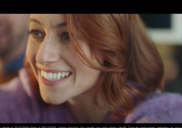 Natalia Sprenger en el nuevo anuncio de McDonald's Trolls 2 Gira Mundial